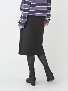 Brown&Street(ブラウンアンドストリート) |FrontButtan Knit Skirt