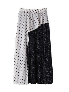 Brown&Street(ブラウンアンドストリート) |Double Dot Pleats Skirt